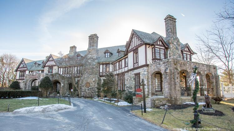 The 25-room Henderson mansion in Weston that is being sold by Northeastern University.