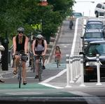Alternative proposed for Central Parkway bike track
