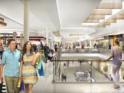 This rendering shows what the inside of the renovated Southwest Plaza will look like.