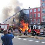 Old City blaze fueled by flammable materials; no sprinklers