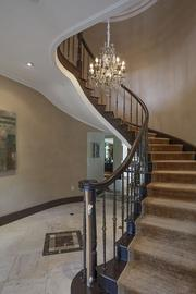 Staircase at 6020 N. Bay Road, Miami Beach