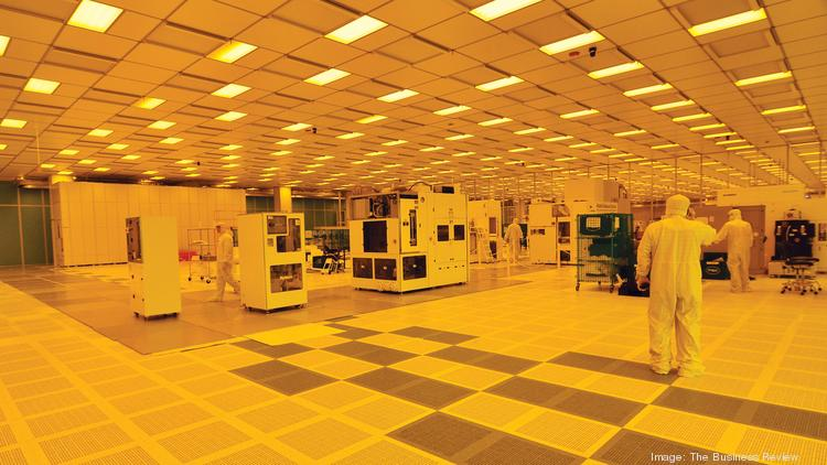 Inside the College of Nanoscale Science and Engineering, now known as SUNY Polytechnic Institute, in Albany.