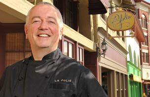 Roland Passot's restaurant, La Folie, is one of the 15 San Francisco establishments that will debut Table8's last-minute reservation service, according to Table8 founder Sontash Jayaram.