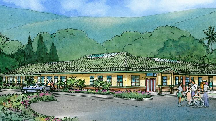 This rendering shows a renovated building at the Palolo Chinese Home in Honolulu, which is in the midst of completing its $25.5 million master plan campus redevelopment.