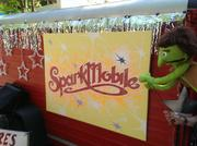 "The ""Spark Mobile"" is a traveling road show to bring visual and performing arts to Jacksonville street fairs, schools, and public events."