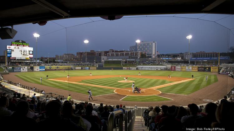 The Barons played the Jacksonville Suns during the season opener April 9.