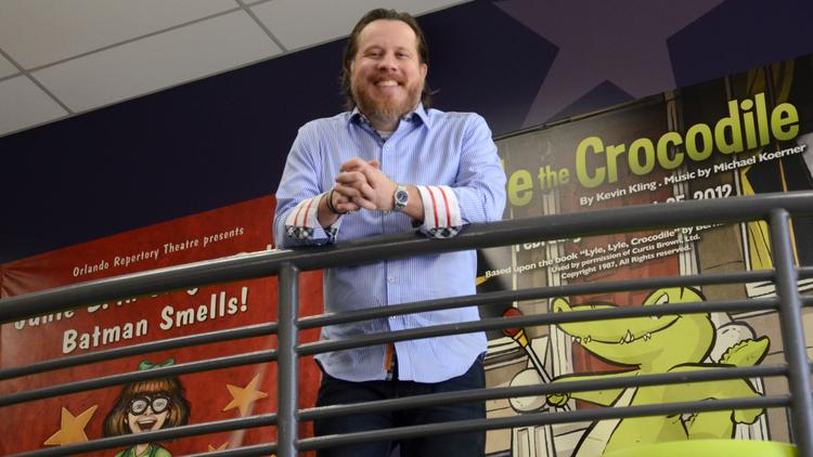 Frontline Event Services CEO Brian Avery's clients include the Orlando Repertory Theatre and IBM.