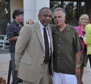 Louie Chapman, city manager of Delray Beach, and Gerry Franciosa.