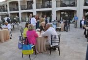 The opening party for the viewing of the Delray Beach Marriott Villas by the Sea.