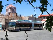 Pictured is an example of a BRT that recently rolled through Albuquerque on the way to its destination in Las Vegas, Nev.