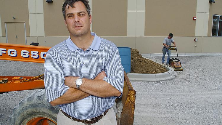 The company formerly known as Louisville Paving is now Louisville Paving and Construction Co. Joe Dougherty, above, is president of the company.