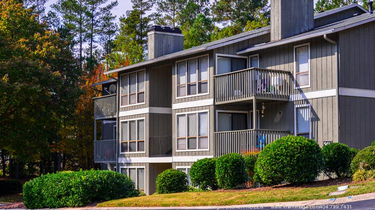 The Laurel Springs apartment community in north Raleigh was among a group of three apartment properties sold to private equity firm Equus Capital Partners.