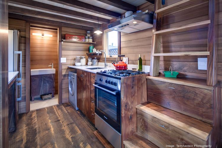 Tiny Houses Peek inside 160 feet of Portland simplicity