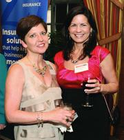 Prudential Preferred Realty's Deb Arrisher, left, and Linda Brennfleck.
