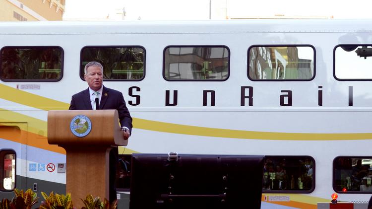 Orlando Mayor Buddy Dyer announced the creation of a Digital Main Street program at the 2014 State of the City address near the SunRail station.