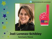 Why selected: Over 11 years, Jodi Lorenzo-Schibley has lead Sanctuary House through a constant sea of change as executive director while maintaining her passion for fighting the stigma of mental illness and helping her clients learn and appreciate their own value within the community.