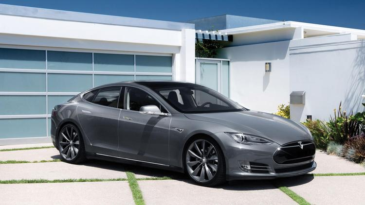 The Tesla Model S, a sedan, is the electric-vehicle manufacturer's second offering. Its first model was the Roadster.