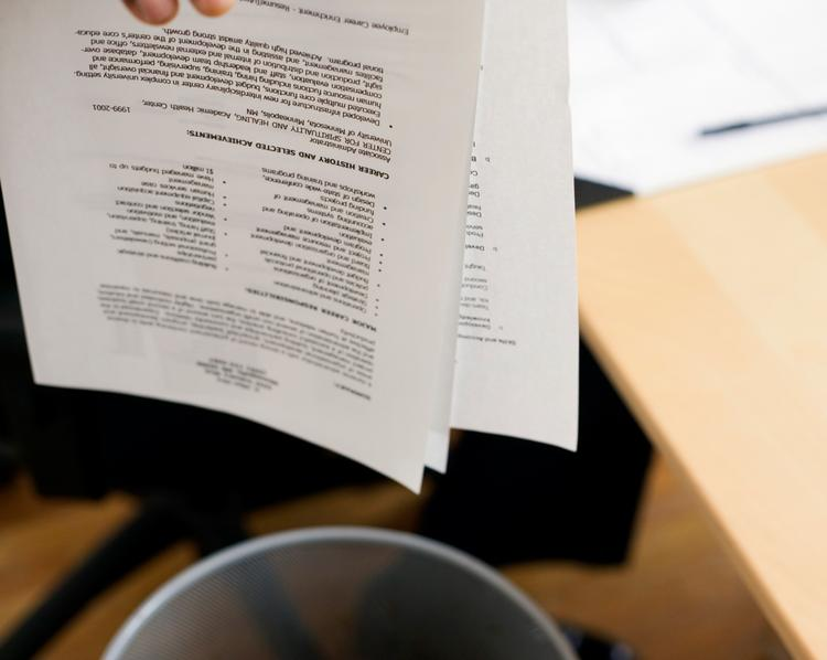 Typos or other sloppiness in your resume? That's a perfect way to not get a job.