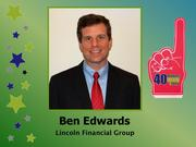 Why selected: A rising star within one of the Triad's largest employers, Ben Edwards was recently promoted to a new management position within Lincoln Financial Group's law, compliance and public policy department.