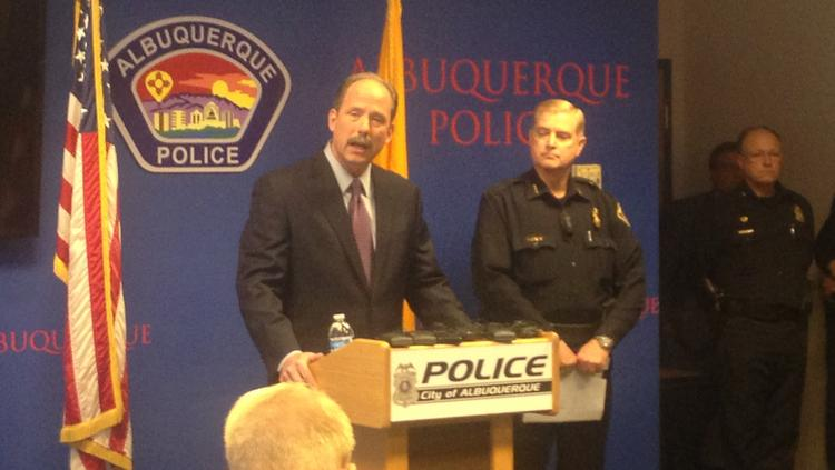 """Mayor Berry held a press conference Thursday in response to the Justice Department's report finding that the Albuquerque Police Department """"engages in a pattern"""" of excessive force that violates the U.S. Constitution. State and federal officials have urged the city to follow the recommendations outlined in the report."""