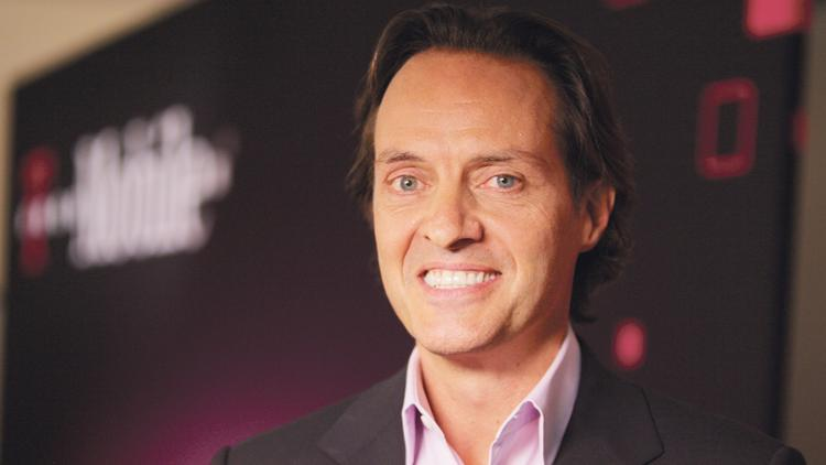 John Legere is CEO of T-Mobile US Inc.