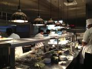 The Capital Grille's kitchen staff includes an in-house butcher and pastry chef.