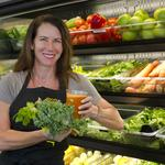 <strong>Stacy</strong> <strong>Madison</strong> cashes in her chips to open a juice bar in Needham