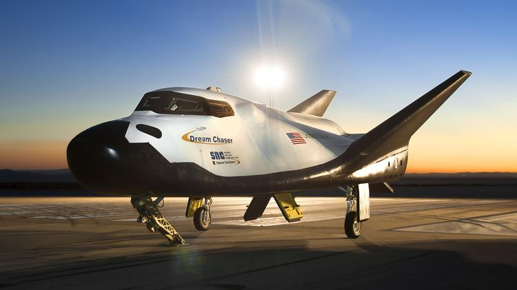 Sierra Nevada Corp. is researching the possibility of landing its Dream Chaser spacecraft at the planned Houston spaceport.