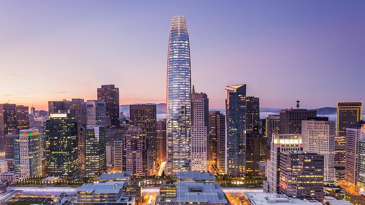 Salesforce has leased 714,000 square feet of office space in the Transbay Tower.