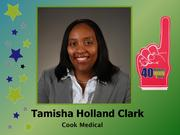 Why selected: Over 15 years, Tamisha Holland Clark has worked her way up from product development engineer to her current position as general manager of the now 500-plus employee Cook Endoscopy division. Clark is also a relentless advocate for STEM education in the region.