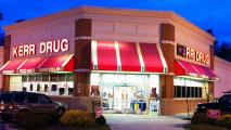 Walgreens has begun the process of taking down the Kerr Drug signs and remodeling the stores.