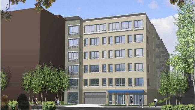 The Danesh Group has won approval for this six-story apartment building with 65 units in Brookline.