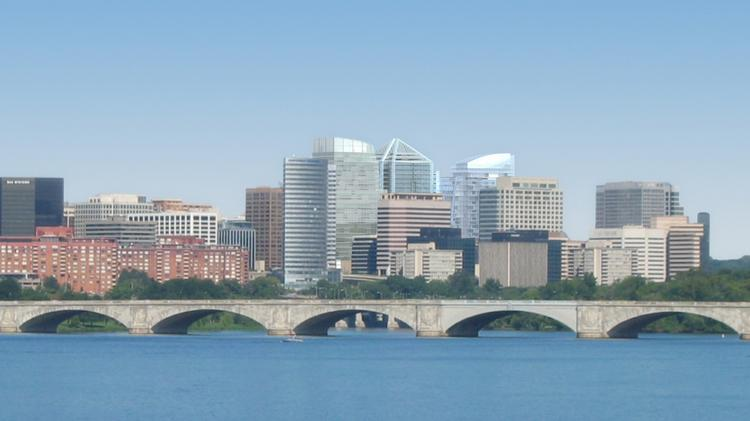 Rosslyn, as it looks today. Arlington has big plans for its downtown, but it faces more than a half dozen challenges.