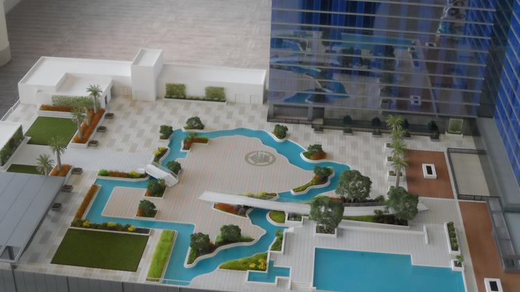 Experts say the Marriott Marquis Houston will be the first convention hotel to feature a lazy river, attracting leisure travelers as well as those traveling for business.