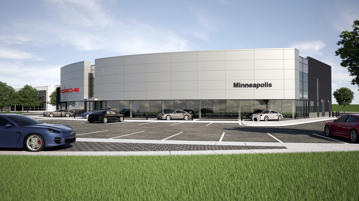 Pohlads Shift Gears On Porsche Dealership Will Build New Instead Of Renovating Minneapolis