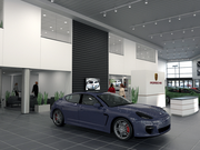 The new Porsche of Minneapolis dealership will have more display space, service bays, a car wash, offices and employee facilities.