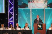 """Archie Manning spoke about his family and his football career at the """"They're Off"""" luncheon Friday."""
