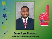 Why selected: As an associate university attorney for Winston-Salem State University, Brown negotiated the agreement for the Center for Design Innovation, a collaboration between WSSU, the UNC School of the Arts and Forsyth Technical Community College. Brown's efforts also helped secure financing and conditions that allowed the effort to proceed with hiring and property acquisition that led to the 2012 groundbreaking in the Piedmont Triad Research Park.
