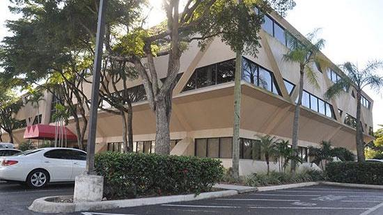 This building at 2200 W. Commercial Blvd. in Fort Lauderdale is headed to foreclosure auction.