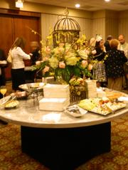 A special reception was held before the They're Off Luncheon!