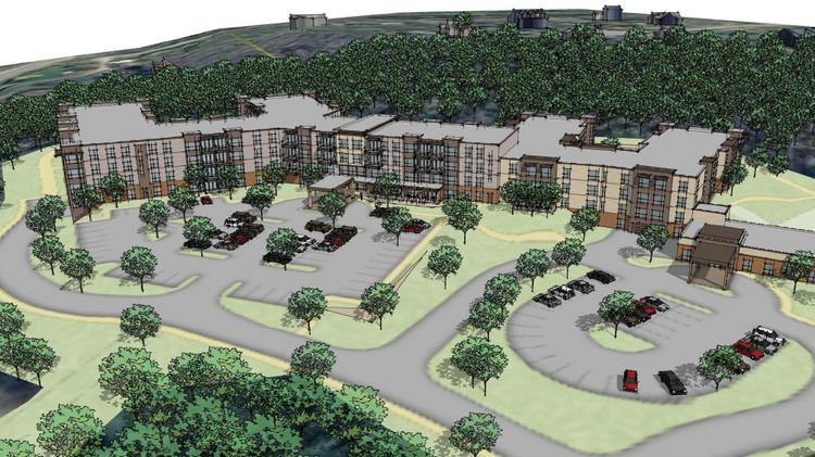 A rendering of Presbyterian Homes & Services project proposed in Hudson, Wis.