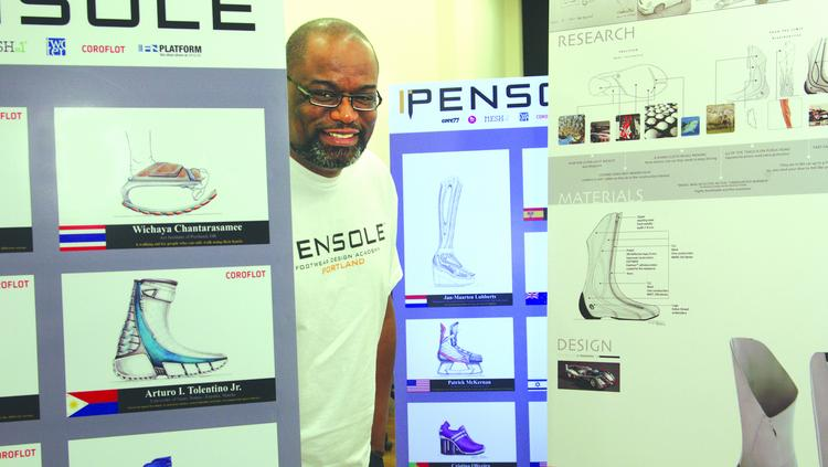 Adidas is sponsoring a September class at D'Wayne Edwards' Pensole Academy which could lead to employment for some aspiring footwear designers.