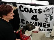 Vicki Gramm, a social media influencer, started Coats 4 Canines to help dogs in need.