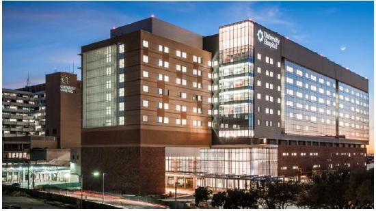 University Hospital will begin moving patients into its new Sky Tower on Monday.