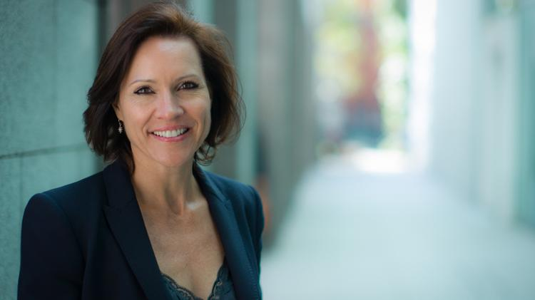 As Senior Vice President of Employee Success (human relations), Monika Fahlbusch is at the center of Salesforce.com's hiring efforts. The company says it will hire 1,000 people in San Francisco this year, bringing the total in the city to about 5,000.
