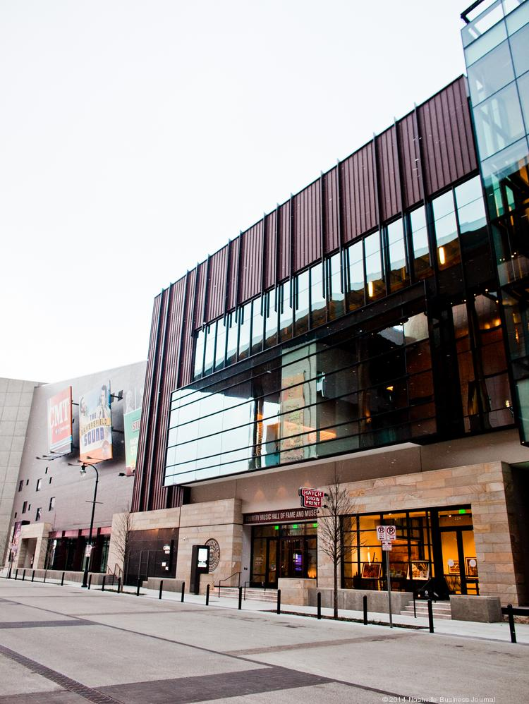 The Country Music Hall of Fame in downtown Nashville.