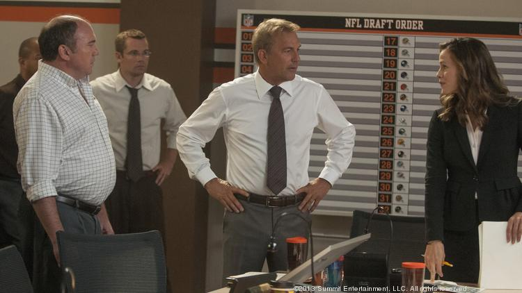 "In ""Draft Day,"" Kevin Costner returns to one of his signature genres, the sports drama, as the general manager of the Cleveland Browns on the most important day of his year."