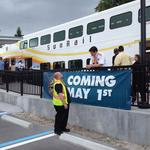 Ample parking, segways and whoopie pies: SunRail chugs into Maitland Station (Video)