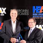 Top homebuilders, communities honored at HBA awards gala