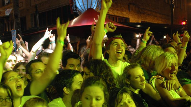 The fans are what make a music festival successful, but industry business is important for the bands who draw the fans.